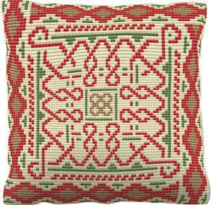Printed 'Chunky' Cross Stitch on Tapestry Canvas