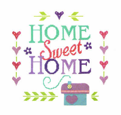 Home Sampler - Includes Felt Applique