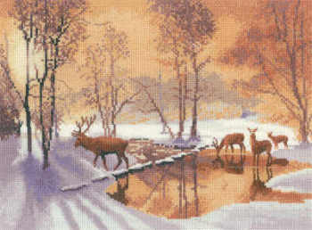 Stepping Stones - John Clayton Cross Stitch