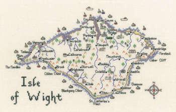 Isle of Wight Cross Stitch CHART ONLY