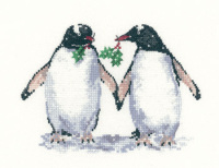 Christmas Penguins - Sue Hill Cross Stitch