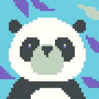Panda - Starter Tapestry Kit
