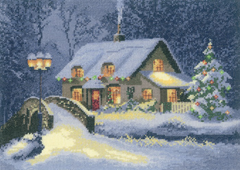 Christmas Cottage - John Clayton Cross Stitch