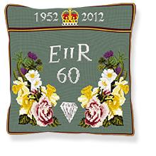 Queens Diamond Jubilee - Tapestry Kit