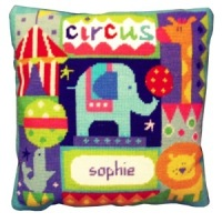 Circus Name Tapestry Sampler