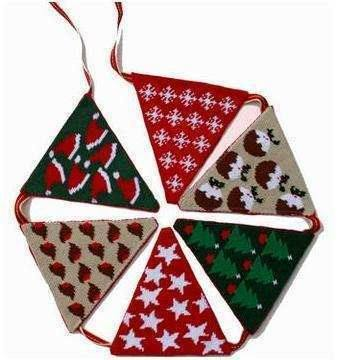 Christmas Tapestry Bunting Kit