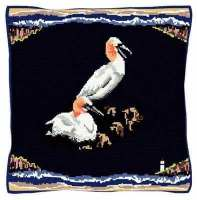 Seaside Gannets - Bird Tapestry Kit
