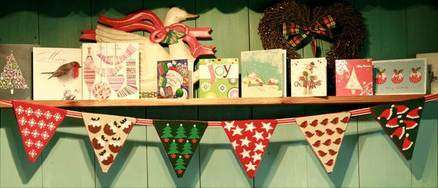 Christmas Tapestry Bunting