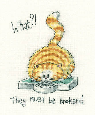 What ! ? - Peter Underhill Cross Stitch