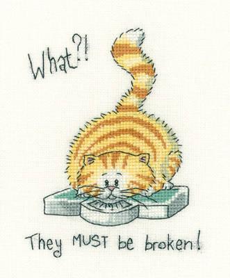 What ! ? - Peter Underhill Cross Stitch