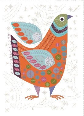 Bird Sew Embroidery Kit - Nancy Nicholson