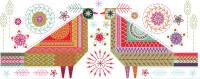 Lovebirds Embroidery Kit - Nancy Nicholson