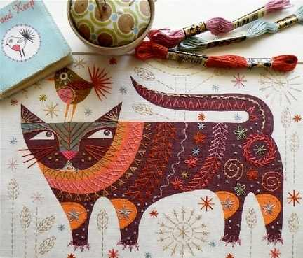 Nancy Nicholson Embroidery Kits