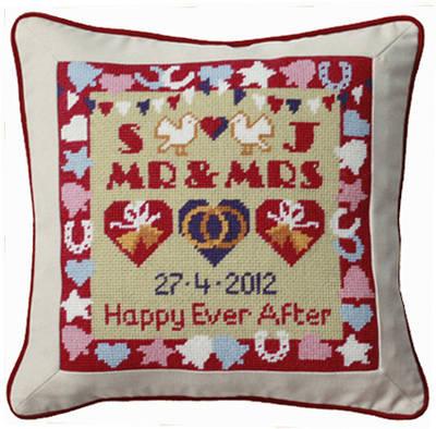 Confetti Wedding Sampler Tapestry Kit