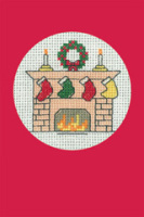 Christmas Stockings Card Kit (Red)