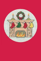 Christmas Stockings Card Kit (Red)