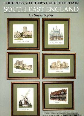 South East England Cross Stitch Chart Book - Heritage Crafts
