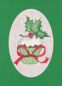 Christmas Cupcake Card Kit (Green)