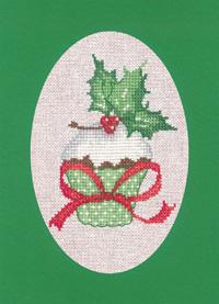 Christmas Cupcake Card Kit (Green)