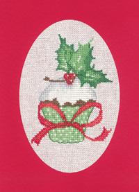 Christmas Cupcake Card Kit (Red)
