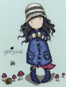 Toadstools - Gorjuss Cross Stitch