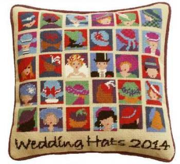 Wedding Hats Tapestry Kit