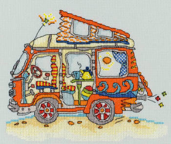 Sew Dinky VW Van - Bothy Threads