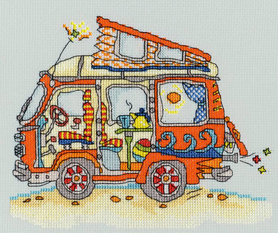 Sew Dinky VW Van - Bothy Threads *NEW*