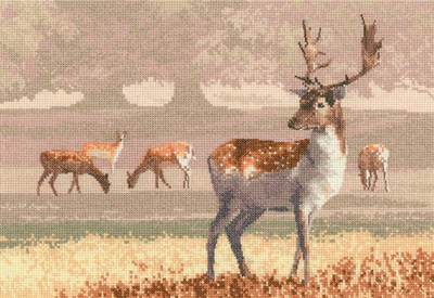 Deer Park - John Clayton Cross Stitch *NEW*