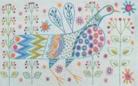 Longtail Bird Embroidery Kit - Nancy Nicholson
