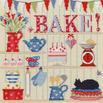 Bake - Cross Stitch Sampler by Bothy Threads*NEW*