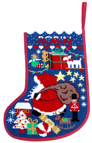Starry Stocking - Midnight - *New* Christmas Tapestry Kit