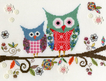 Love Woo Owl - Bothy Threads