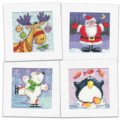 Pack of 4 Christmas Cards *NEW*