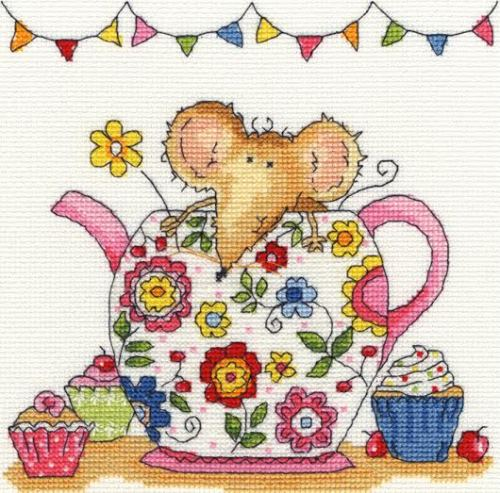 Teapot Mouse - Bothy Threads - *NEW*