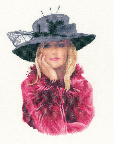 Stephanie - John Clayton  Elegance Cross Stitch *NEW*