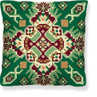 Seichur -  Cross Stitch Kit (printed canvas)
