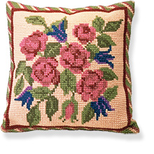 Braemar -  Cross Stitch Kit (printed canvas)