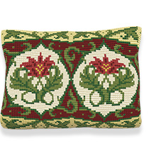 Burghley -  Cross Stitch Kit (printed canvas)