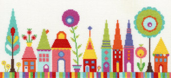 Funky Street Cross Stitch