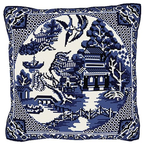 Willow Pattern Tapestry - Brigantia Needlework