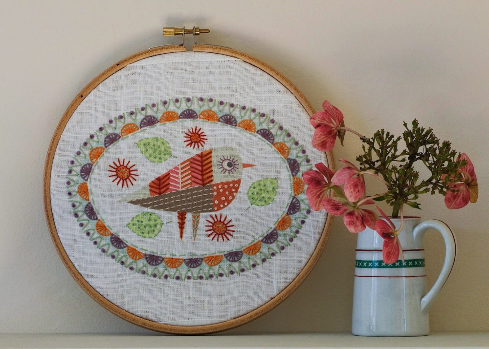 Birdie 3 Embroidery - Nancy Nicholson