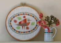 Birdie 3 Embroidery Kit - Nancy Nicholson