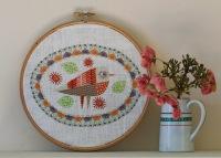 Birdie 3 Embroidery Kit - Nancy Nicholson