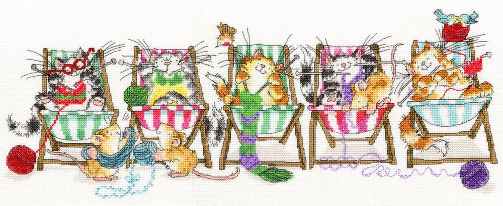 Kitty Knit - Margaret Sherry