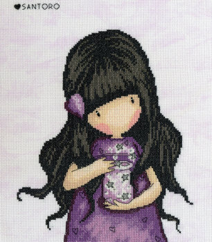 We can all Shine - Gorjuss Cross Stitch