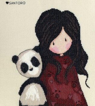 Panda Girl - Gorjuss Cross Stitch