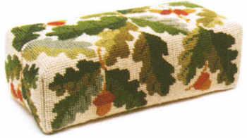 Acorns Ecru Tapestry Doorstop Kit