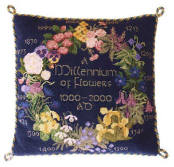 Tapestry Flowers Sampler - Blue
