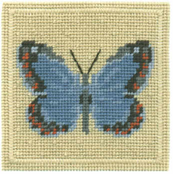 Small Tapestry Kit - Common Blue Butterfly